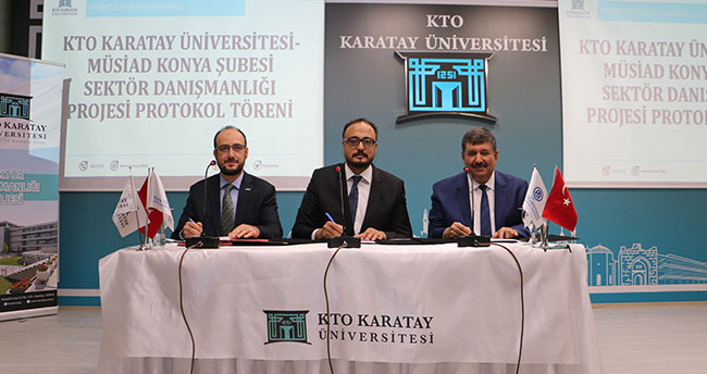 KTO Karatay ile MÜSİAD Konya Şubesi arasında işbirliği