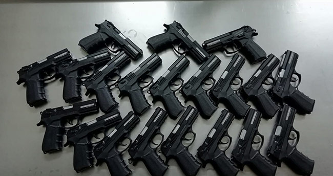 Kurusıkıları tabancaya dönüştürüp satan şüphelilere operasyon