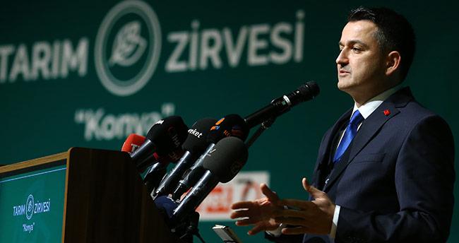 Tarım Bakanı Konya'da konuştu!