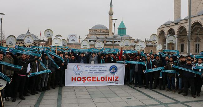 KYK yurtlarında kalan 650 öğrenci Konya'da