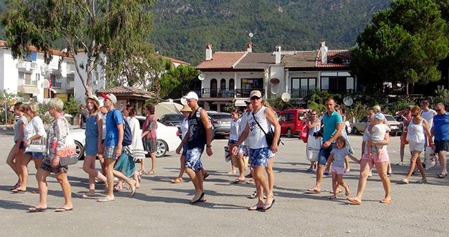 Türkiye'ye en fazla turist o ülkeden geldi
