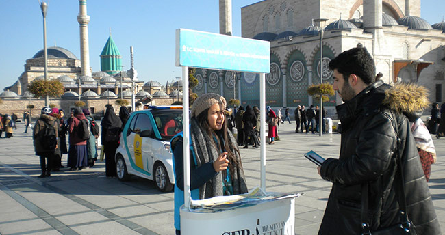 Mobil Turizm Danışma Birimi 'BANA SOR'