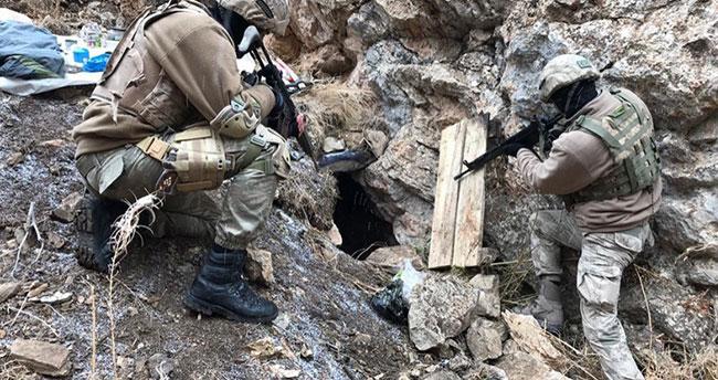 PKK'ya soğuk duş! 194 sığınak imha edildi