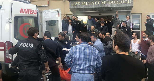 Rize Valisi, Emniyet Müdürlüğündeki saldırının detaylarını anlattı