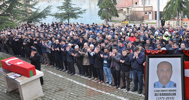 Antalya Emniyet Müdür Yardımcısı Konya'da toprağa verildi