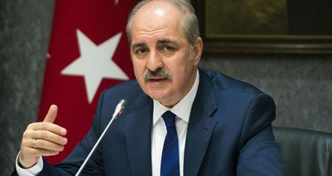 AK Partili Numan Kurtulmuş'tan flaş açıklamalar! Bir ilk olacak
