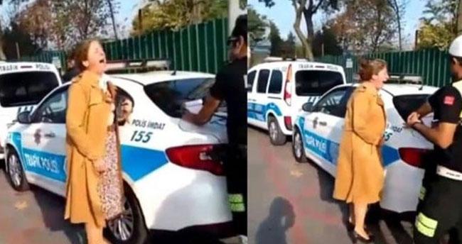 Trafik cezasına attığı çığlık gündem olmuştu! Flaş gelişme
