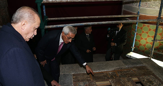 380 sene sonra bir ilk! 4'üncü Murat'tan sonra ilk kez Erdoğan gördü