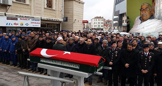 Emekli Kıdemli Jandarma Başçavuş Esen, Konya'da defnedildi