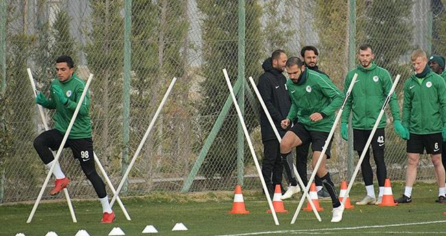Konyaspor'da Akhisarspor maçı hazırlıkları devam ediyor