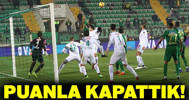 Akhisarspor 0 – 0 Konyaspor