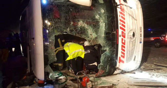 Soylu, 3 Kişinin Öldüğü Otobüs Kazasıyla İlgili Detayları Paylaştı