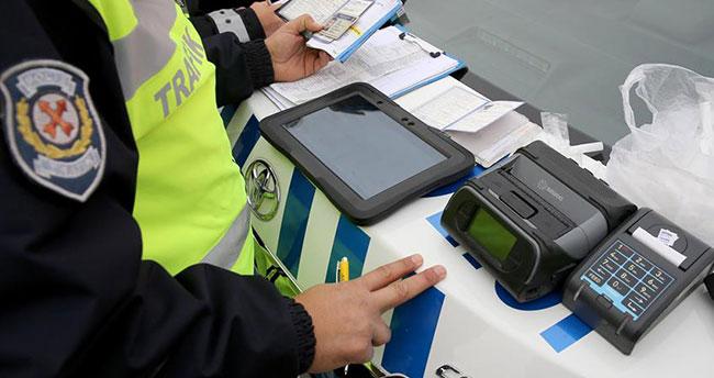 İdrar testinde uyuşturucu çıkan sürücüye 5 bin 167 lira ceza