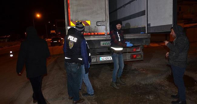 Ereğli'de polisten huzur uygulaması