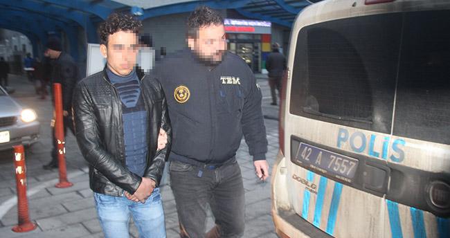 Konya'da DEAŞ operasyonu : 5 Suriyeli gözaltına alındı