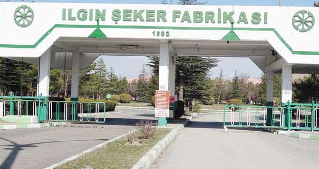 Ilgın Şeker Fabrikasının satışı iptal edildi