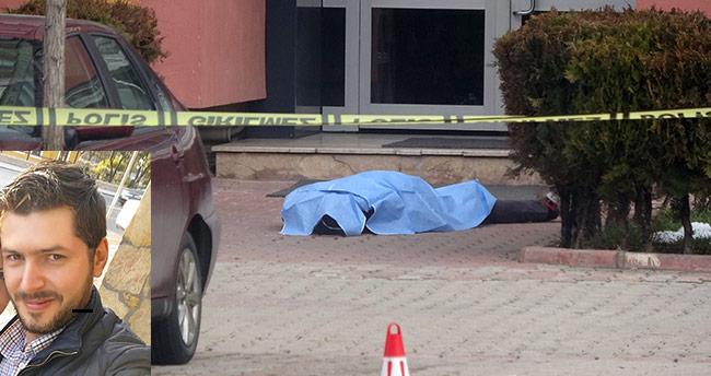 Konya'da intihar! 11. kattan atladı