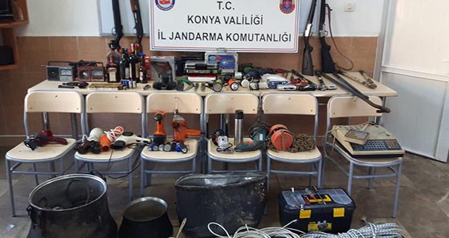 Konya'da jandarmadan hırsızlık operasyonu!