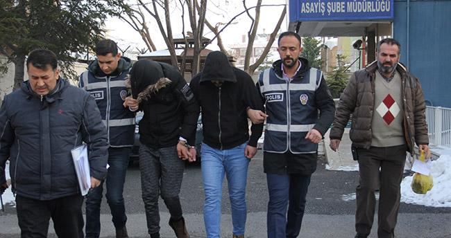 Konya'da asansör kontrol kartlarını çalan 2 kişi tutuklandı