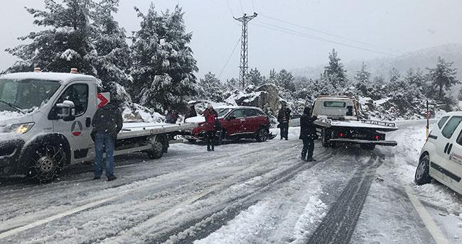 Konya-Antalya karayolunda esaret bitti