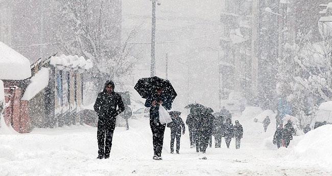 Yurt genelinde kar ve yağmurlu hava bekleniyor