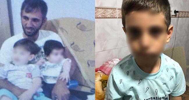 Ödevini yapmadığı için 6 yaşındaki oğlunu hastanelik eden cani baba tutuklandı