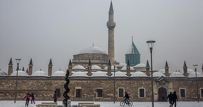 Konya'nın ilçelerine yeni hafta için yoğun kar uyarısı!