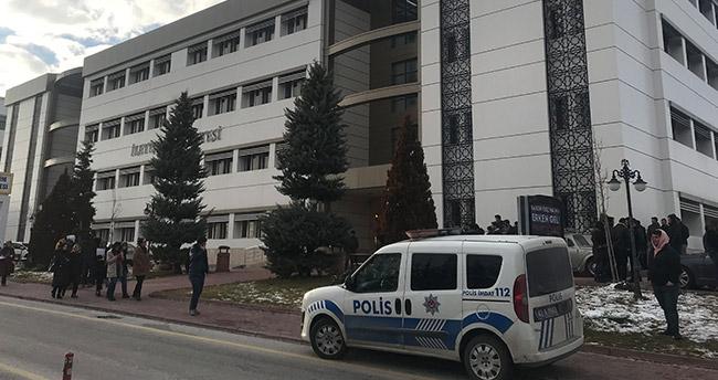 Selçuk Üniversitesi'nde pompalı dehşet!