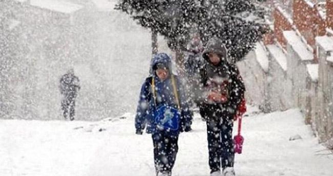 Konya'nın Seydişehir ilçesinde eğitime engeli – 8 Ocak Seydişehir kar tatili