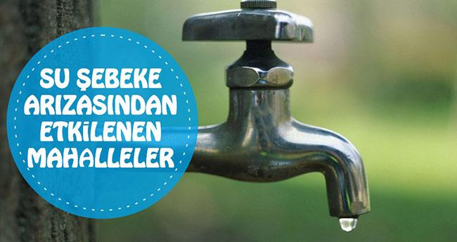 Konya'nın 9 mahallesinde su kesintisi