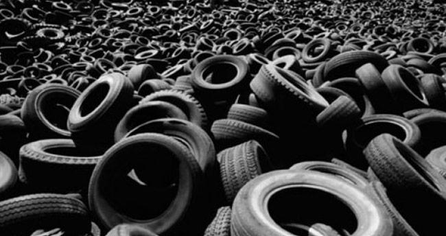 Bir milyon ton lastik geri kazanıldı!