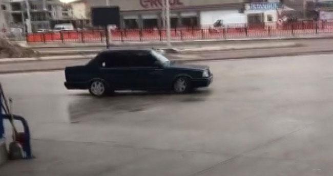 Aksaray'da drift yapan sürücülere ceza yağdı