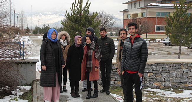 Seydişehir'de üniversite öğrencilerinin bankamatik tepkisi