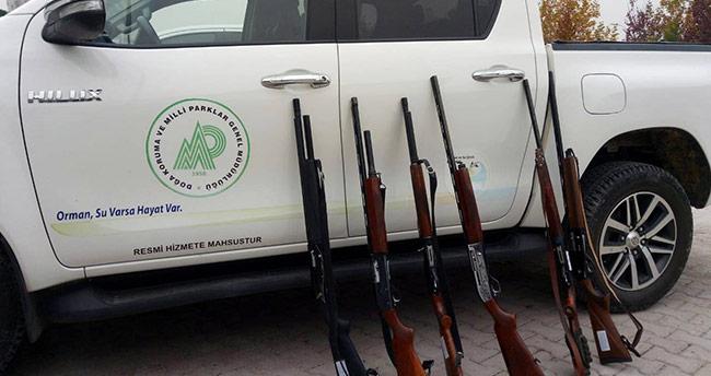 Konya'da yasa dışı avcılara devlet göz açtırmadı