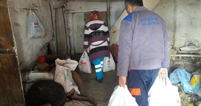 Beyşehir Belediyesi yoksul ailelerin umudu oldu