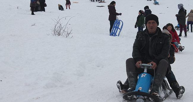 Kayak severlerin yeni gözdesi Konya Aladağ