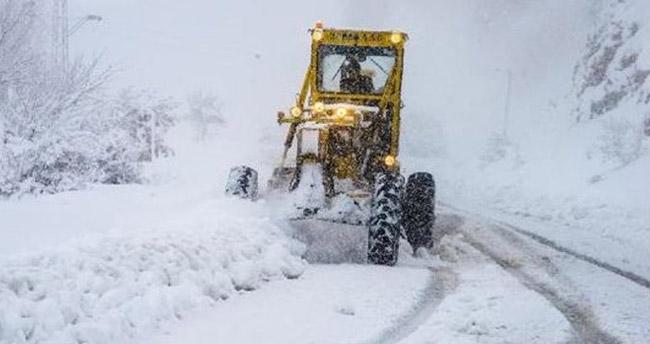 Van ve Muş'ta Kar nedeniyle 51 yerleşim birimine ulaşım sağlanamıyor