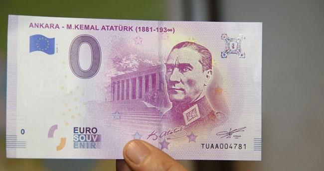 Atatürk portreli 'Euro' bastılar