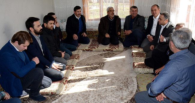Hasan Kılca'dan Karatay'ın 7 mahallesine ziyaret