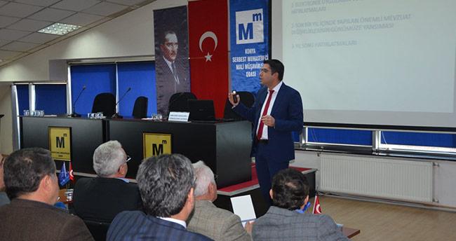 Konya SMMMO'da seminer