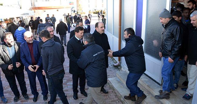 Başkan Altay, Aykent İrşad Camisi'nde vatandaşlarla buluştu