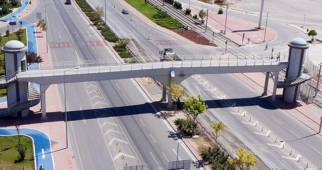 Konya'da bu yola dikkat!