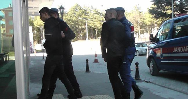 Konya'da hırsızlık şüphelilerine jandarmadan suçüstü