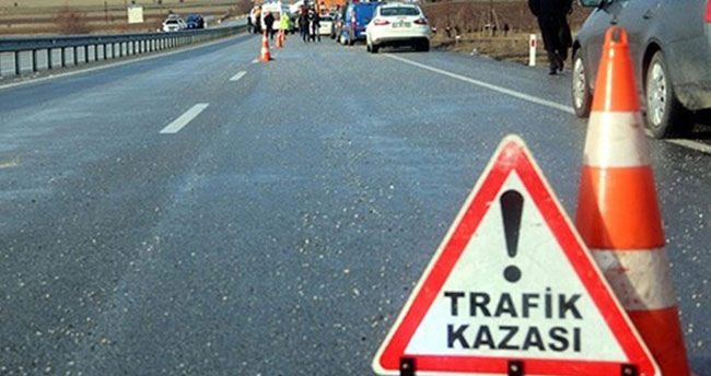 Ocak ayında trafik kazaları yüzde 36,5 azaldı