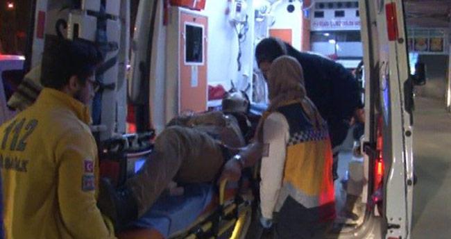 Konya'da baba oğul yol kavgasında vuruldu