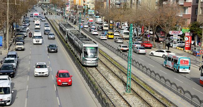 Konya'daki motorlu taşıt sayısı : 724 bin 139