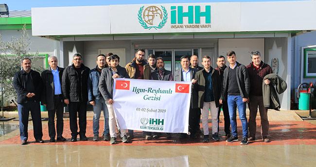 Konya'dan Reyhanlı'daki İHH tesisilerine ziyaret