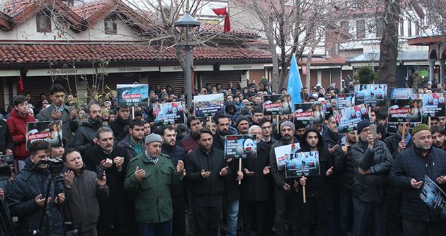 Konya'da Çin'in Doğu Türkistan politikasına tepkiler