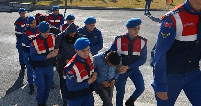 4 hırsızlık şüphelisi Konya'da yakalandı