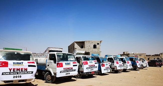 Konya'dan Yemen'e ilk yardım heyeti ulaştı